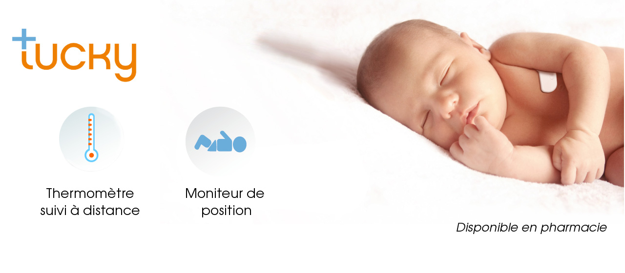(English) [fr]thermomètre connecté bébé fièvresmart thermometer baby fever