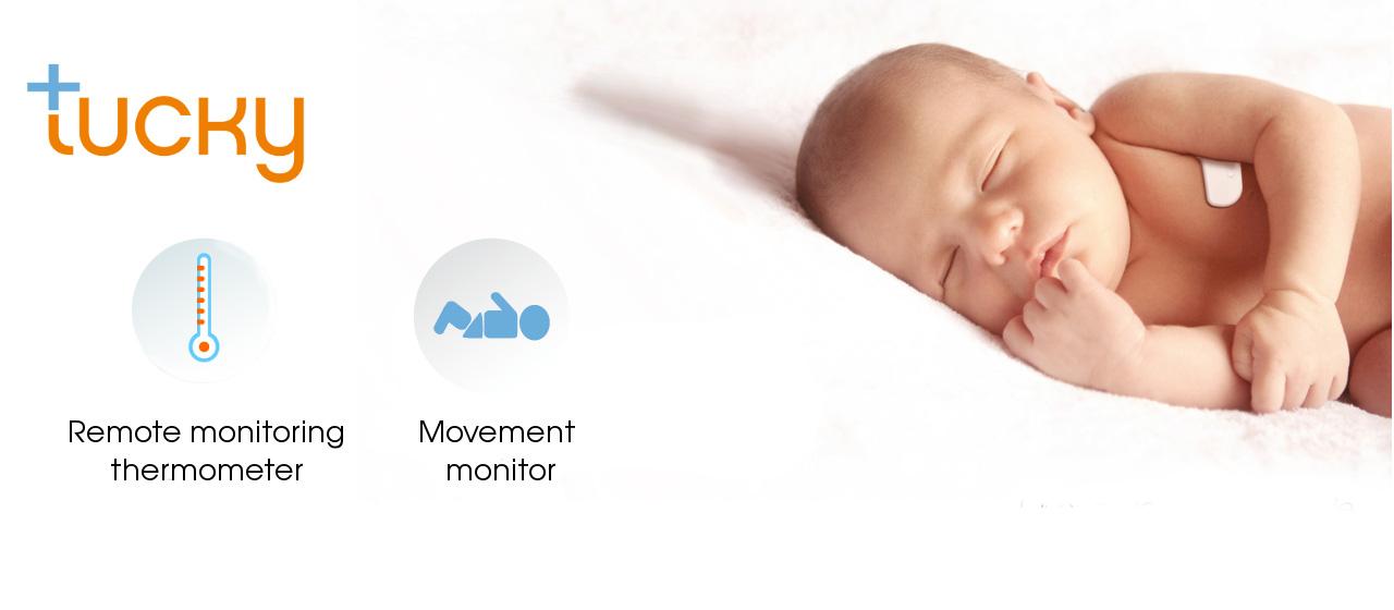 [fr]thermomètre connecté bébé fièvresmart thermometer baby fever