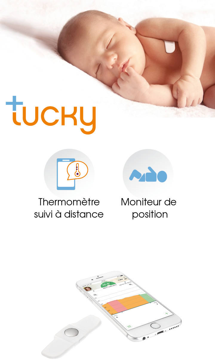 (English) [fr]thermometre connecte bebe fievreremote temperature monitoring baby fever