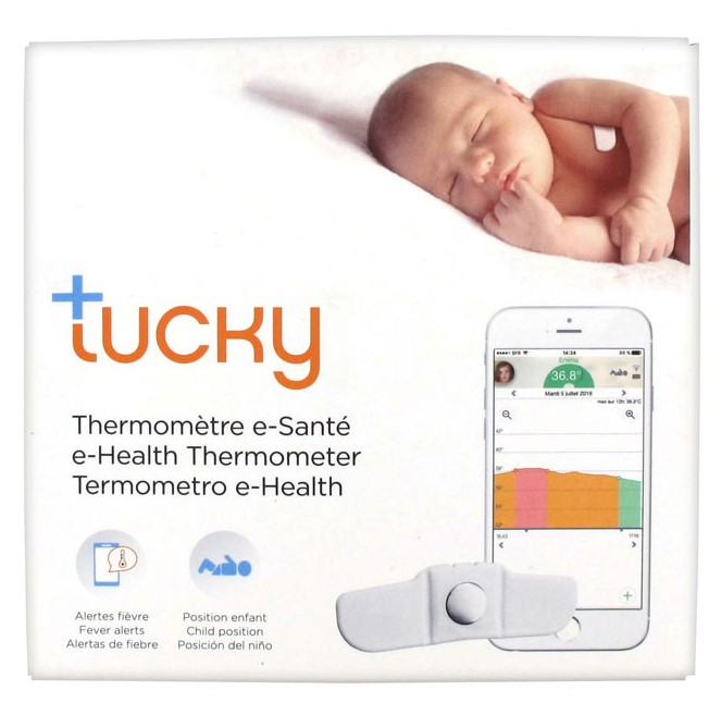 thermometre patch digital pour enfant