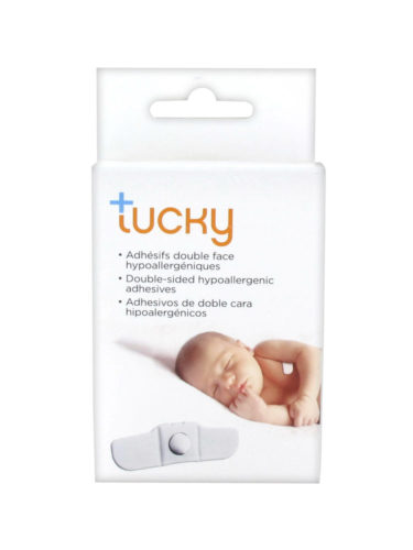 Tucky wearable thermometer