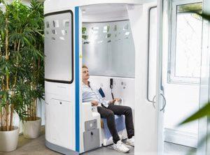 cabine de télémédecine e-santé H4D