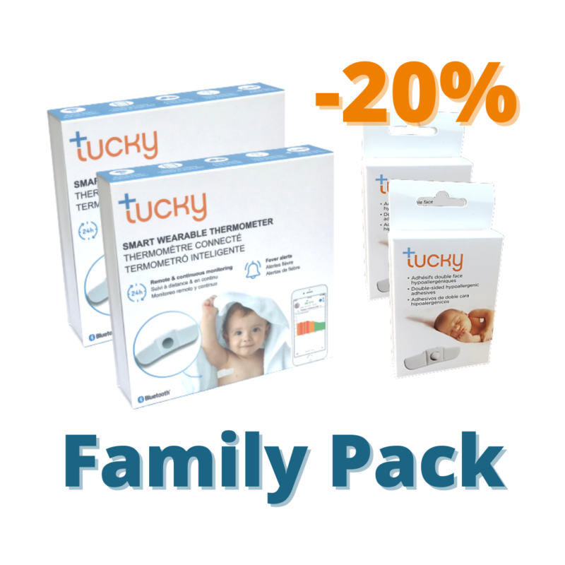 Family Pack 2 tucky 2 adhesives